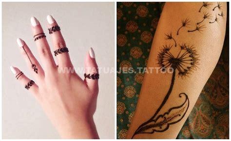 henna tattoo cuanto dura 50 ideas de tatuajes de henna foto y significado