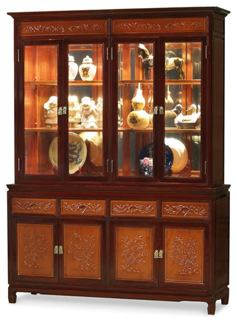 Cabinets From China by China Furniture And Arts Rosewood Flower And Bird Motif