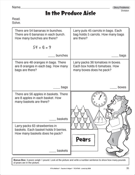 Math Problems For 3rd Grade Worksheet by Multiplication Word Problems For 3rd New Calendar