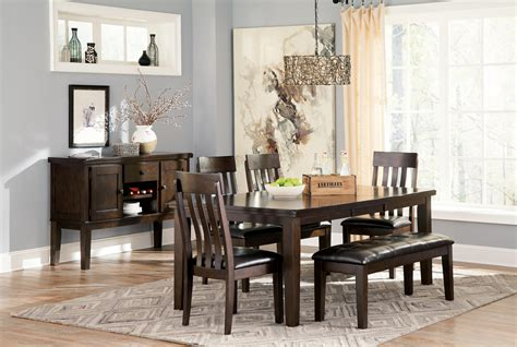 dining room furniture ashley signature design by ashley haddigan casual dining room
