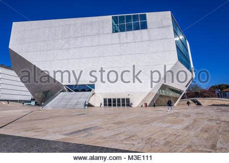 portuguese house music casa da musica house of music concert hall building in porto portugal stock photo