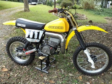 Suzuki Rm250 Parts Buy 1978 Suzuki Rm 250 C2 Ahrma Post Vintage Motocross