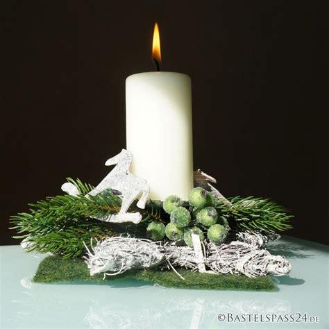 Tischdeko Advent Selber Machen by Tischdeko Weihnachten Selber Machen Kerzenst 228 Nder