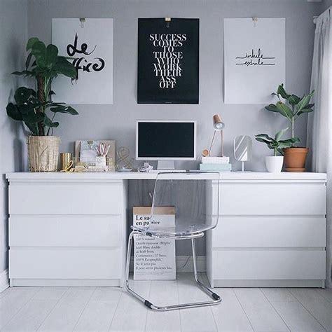 einfacher schreibtisch workspace goals workspacegoals instagram photos and
