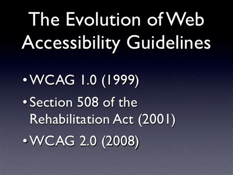 section 508 of the rehabilitation act requires federal agencies to jared smith introduction to web accessibility
