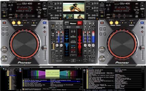 new pioneer dj software free download full version virtual dj software new skin cdj 2000 and djm 800 in work