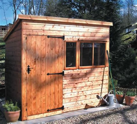 Heavy Duty Shed by Heavy Duty Pent Shed Weavo Fencing Products Ltd