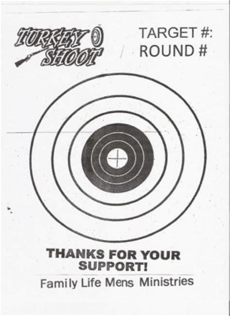 printable turkey shoot targets target gallery