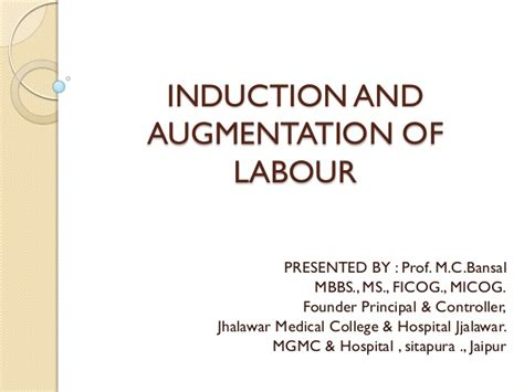 self induction of labor induction of labour 2