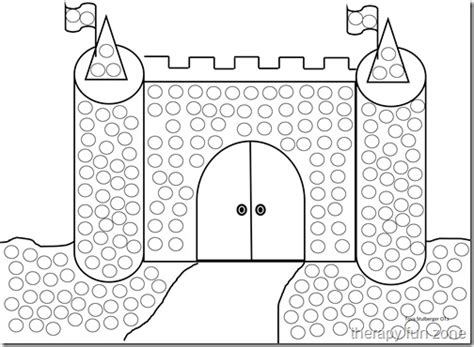 Q Tip Coloring Pages by Q Tip Painting With Templates Therapy Zone