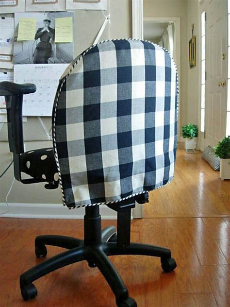 how to cover an armchair with fabric diy office chair makeover with fabric in my own style