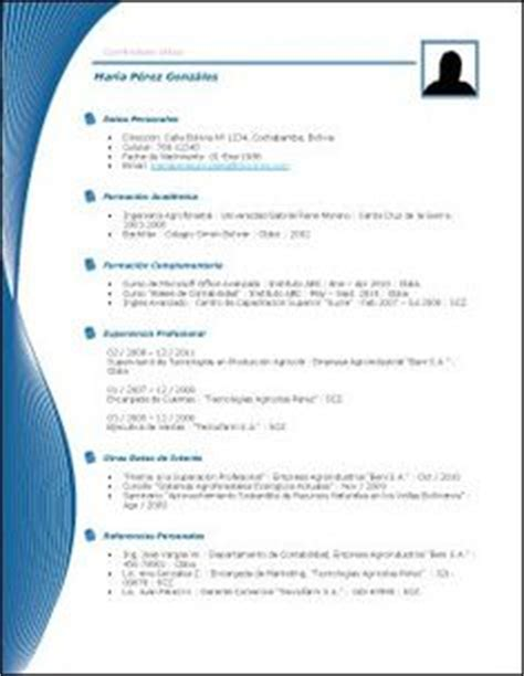 Plantillas De Curriculum Bitae 1000 Ideas About Plantillas Para Curriculum Vitae On Templates Plantillas Gratis