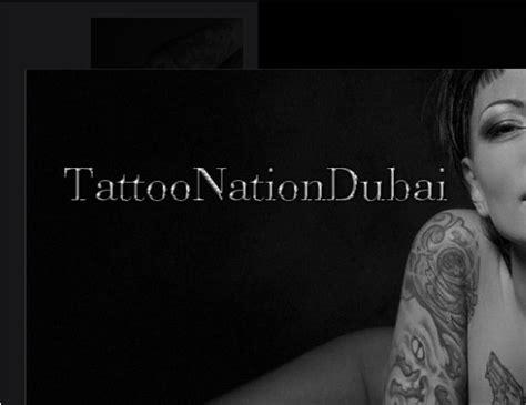 tattoo parlor in dubai dubai tattoo nation in jumeirah dubai uae
