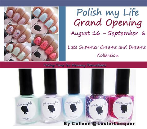 Grand Opening Giveaway - polish my life grand opening giveaway beauty life with kathy