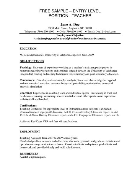entry level resume template free resume template entry level resume ixiplay free