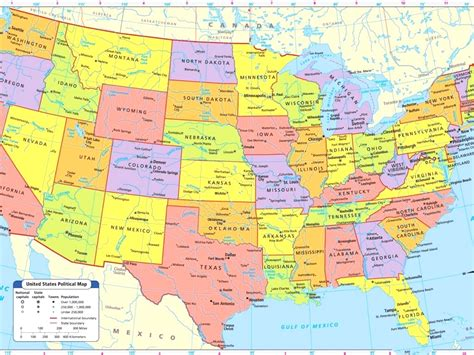 us map with cities map usa major cities tourist attractions maps