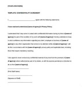 confidentiality agreements templates confidentiality agreement template 15 free word excel