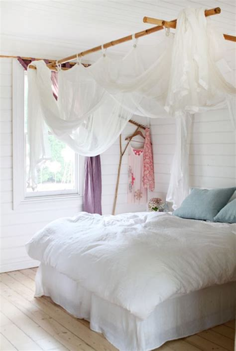 Bed Frame Curtains 78 Images About Sloped Ceiling And Canopy Decorating Ideas On Pinterest Offices And