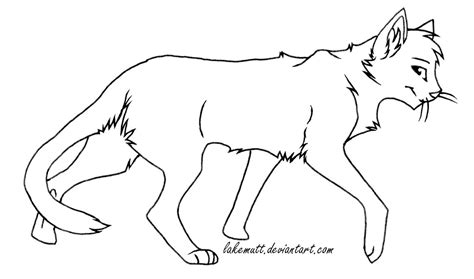free cat lineart by lakemutt on deviantart