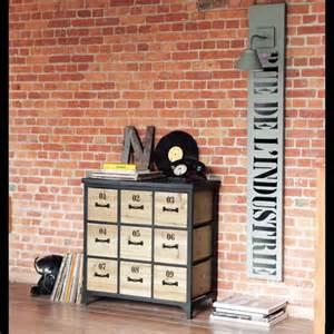 cassettiere maison du monde design docks nove cassetti porta cd maisons du monde