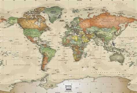 World Map Wallpaper by World Map Wallpaper Bing Images
