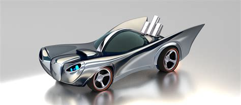 Wheels Hotwheels Retro Bat Mobile Batmobile 3d 1960 s batmobile inspired wheels concept on behance