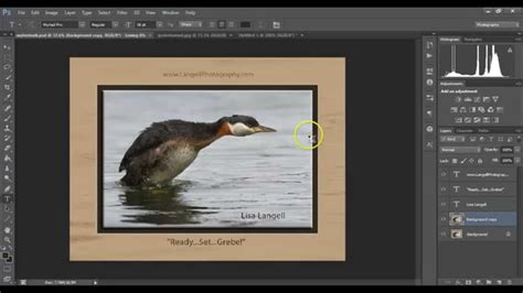 tutorial photoshop frame use photoshop to put a digital frame mat around your
