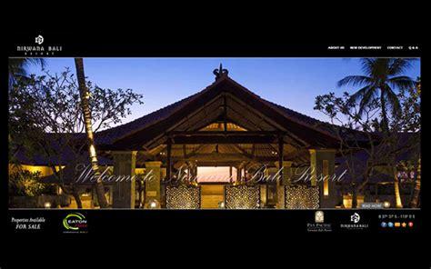 bali nirwana resorts indonesia web design agency