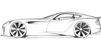 Pencil Drawings Of Sports Cars Sketch Coloring Page sketch template