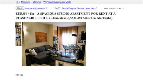craigslist delaware rooms for rent wohnungsbetrug pottergerrard yahoo eur350 1br a spacious studio apartment