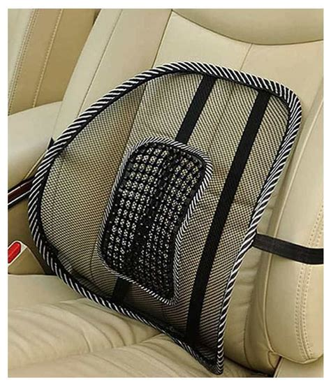 car seat cushion for back india rtc magic lumbar support back rest car seat cushion