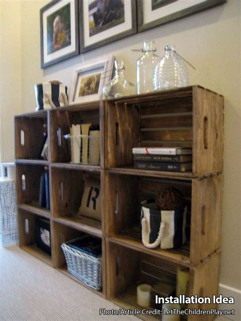 crates for shelves wooden crates for building shelves stackable wooden crate