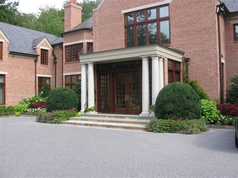 front entrance designs front entrance landscape design nj traditional