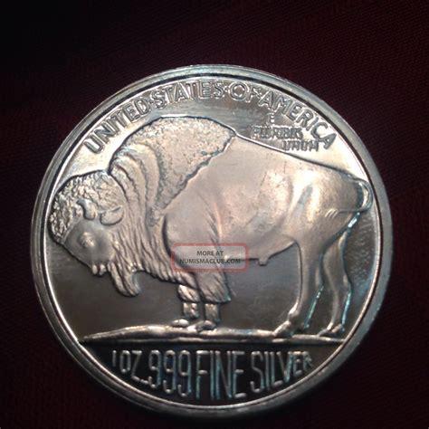 1 Troy Ounce Silver Buffalo Coin - indian buffalo one troy ounce 999 silver