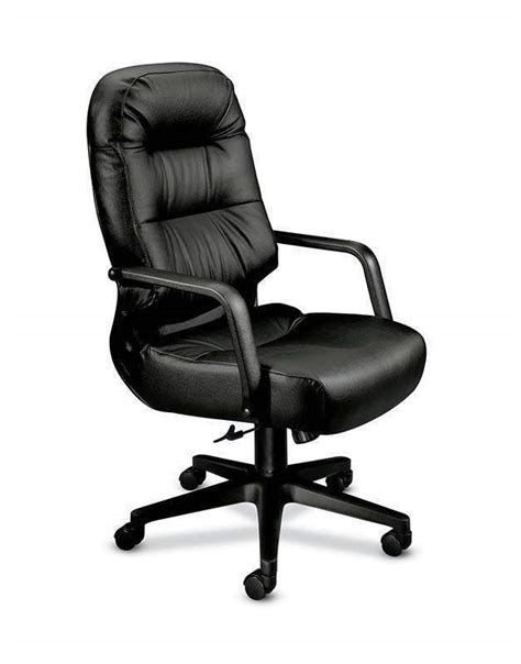 hon h2091 leather pillow soft executive chair abi office