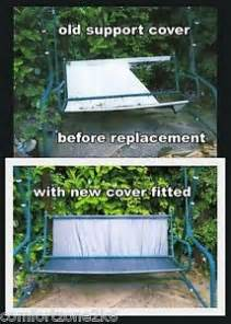 patio swing seat canvas replacement  swing replacement repair seat cushion support cover garden furniture
