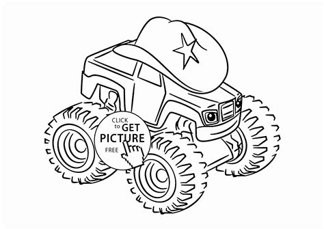 color blaze blaze and the machines printable coloring pages