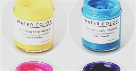 water color hydrating hair color mask chillin n coffee water color hydrating hair color mask