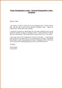 Letter Of Resignation Sle Free by Sales Resignation Letter