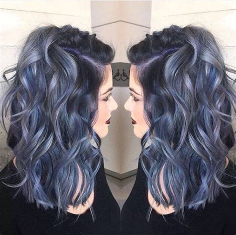 funky hair color for artsy older women 923 best blue green hair images on pinterest hair color