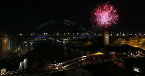 newcastle road closures new year happy new year 10 stunning quayside fireworks photos to