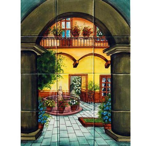 mexican style mural patio tipico mexican tile designs