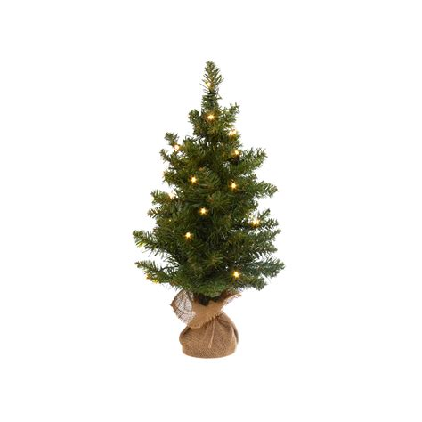 Small Christmas Tree With Led Lights H 80 Cm Coincasa Lights For Small Trees