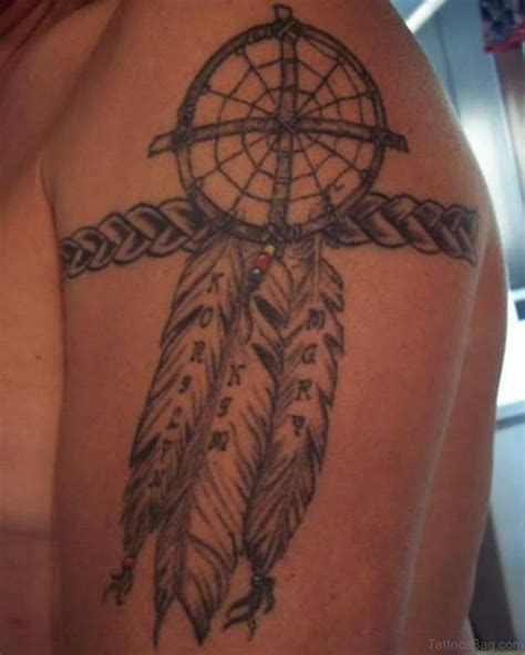 dreamcatcher shoulder tattoo 59 ravishing dreamcatcher tattoos for shoulder