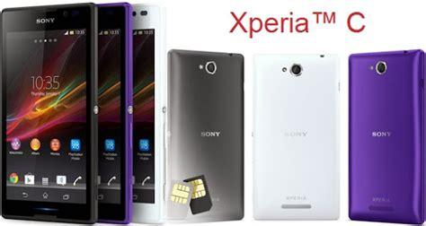 Hp Sony Xperia C harga dan spesifikasi hp sony xperia c