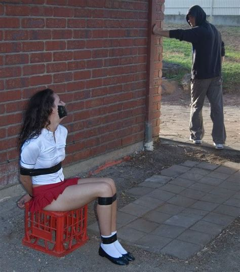 schoolgirl tied bound cute girls tied up kidnapped pinterest girls and