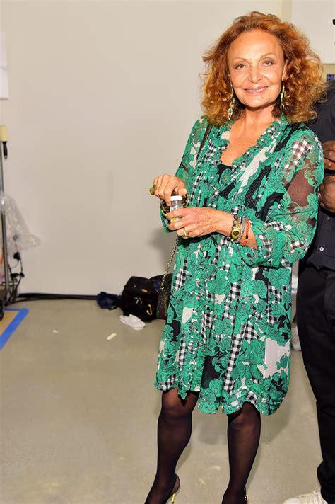 Fashion Week Diane Furstenberg by Diane Furstenberg In Diane Furstenberg Backstage