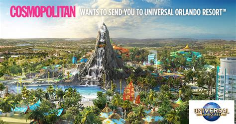 Cosmopolitan Sweepstakes - cosmopolitan wants to send you to universal orlando resort