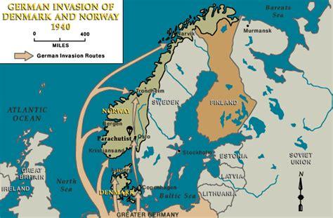 Axe Attack In Germany by La Invasi 243 N Alemana De Dinamarca Y Noruega 1940