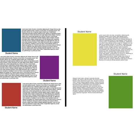biography page layout yearbook layout design ideas creative tips